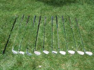Bâtons Golf Callaway Taylormade Ping Nike Titleist Cobra Odyssey