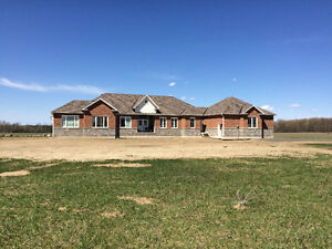Coming Soon Brand New Custom Bungalow on 10 Acres Loretto