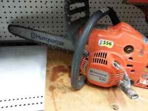 Husqvarna chainsaw. We sell used contractor grade tools
