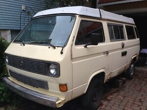 VW Vanagon Westfalia Camper