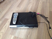 sky hd box with remote and modem box