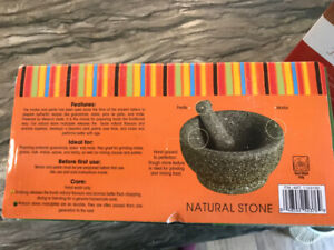 Casa Maria Mortar and Pestle 8.5