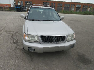 2001 Subaru Forester LTD SUV, Crossover OBO