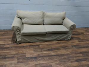 (Free Delivery) - Ikea Ektorp loveseat w/ pull-out bed