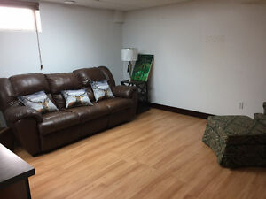 1 bedrooms plus Den, Non furnished or partially furnished apartm