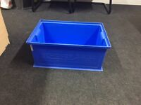 Heavy duty stackable storage tubs