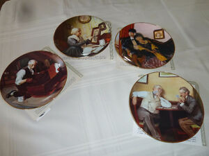 Norman Rockwell Collector Plates – Limited Edition
