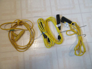 4 - EXTENSION CORDS @ 10 feet