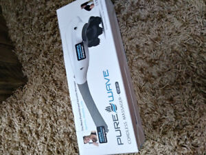 Pure wave cordless massager