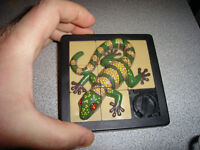 1993 Large Gila Monster Lizard 3-D Puzzle Game