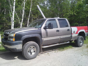 2007 chevy 2500hd classic