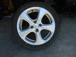 4 Alloy Rims from Hyundai Accent