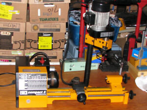 #SPECIAL DEAL# EMCO COMPACT 5 LATHE&TOP MILL PLUS MULTIPLE ACC.
