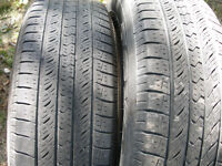 Pair 225/65R17 Toyo Open Country