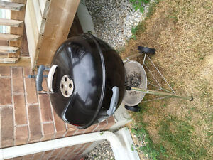 Weber Charcoal BBQ + Cover + Charcoal