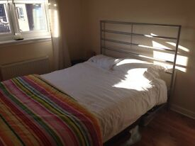 Excellent condition - Double bed frame and mattress