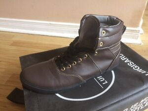 All Leather High Tops BRAND NEW