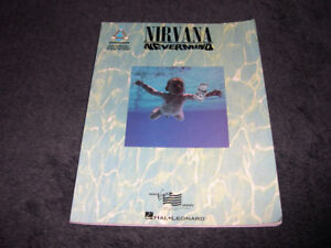 Nirvana - Nevermind (1993) Partitions de musique