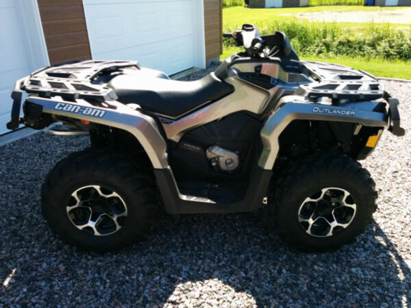 Used 2012 Bombardier Outlander XT 1000