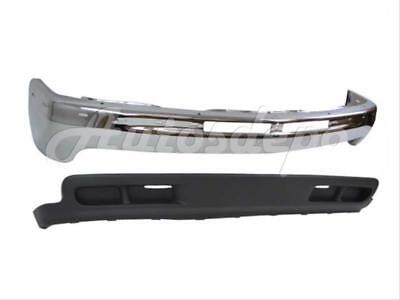 FOR 00-06 CHEVY TAHOE 2WD LS LT FRONT BUMPER BAR CHROME VALANCE W/O FOG HOLE