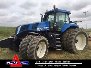 2014 New Holland T8.360 CVT Tractor London Ontario image 1