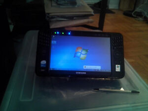 """Samsung Ultra Mobile PC NP-Q1UP, 7.1"""", 1GB ram, 1.33Ghz, HDD: 80"""