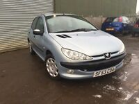 Peugeot 206 1.1 fever trade in to clear £295