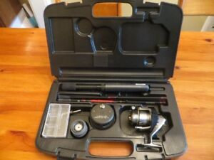 Fishing ROD and REEL- portable travel case