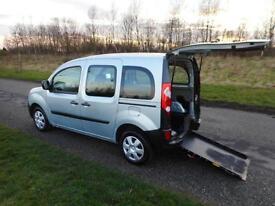 2010 Renault Kangoo 1.6 New Shape WHEELCHAIR DISABLED ACCESSIBLE VEHICLE CAR WAV