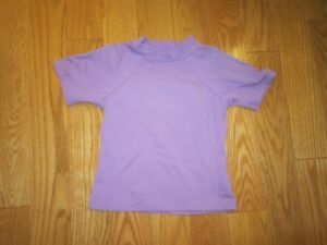 Lands End Rash Guards  - Swim shirts Size 5-6