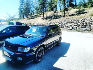 1999 Subaru Forester St/b Type A low Kms!