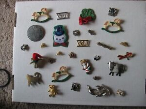 PINS  - (costume jewellery) - REDUCED!!!!