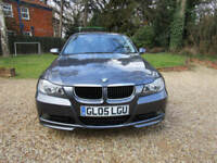 "2005 05 BMW 320d SE 2.0 TURBO DIESEL 6 SPEED 163 BHP FULL BODYKIT 18"" M SPORT"