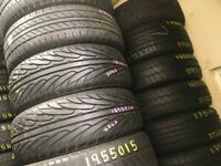 NEW & USED TYRES FITTED 195 65 15 185 65 15 185 60 15 195 55 15 185 55 15 195 60 15 PART WORN TIRES