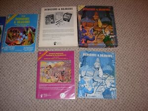 Dungeons and Dragons Basic & Expert Set Sarnia Sarnia Area image 3