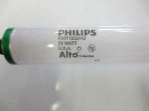11 units of Philips, F60 T12 / D / HO, 75W, Alto collection