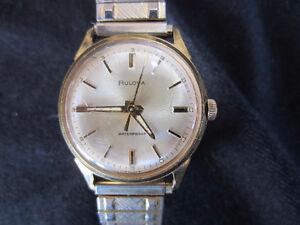 Vintage Bulova Men's mechanical watch