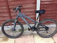 MENS 20 INCH X-RATED DOWNHILL DISC BRAKE SUSPENSION MOUNTAIN BIKE 21 SPEED SMETHWICK £50