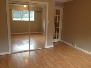 Basement suie with two bedrooms and den