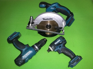 MAKITA LXT PACKAGE DEAL - BARE TOOLS