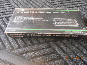 19 pc bushing and inserting tool set