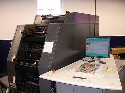 Heidelberg Di Plus Offset Press Qmdi 46-4 Wps3 Rip Year 1999 10 Mil Imp