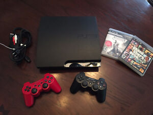 PlayStation 3 (2 Controllers, 3 Games) - $190 / OBO