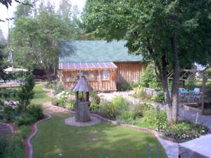 A LOUER ,,Petite Maison au bord de l,eau a 30 min de  MTL-EST