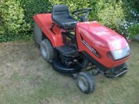 Castelgarden Tractor Ride On Mower garden tractor With Collector