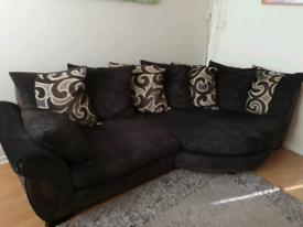 SCS 3 seater sofa and chair