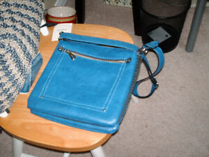 NEW-Blue Jessica Purse from Sears