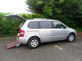Kia Sedona 2.2CRDi 1 WAV Wheelchair Accessible Vehicle