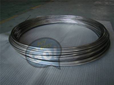 Stainless Steel Flexible Hose 2m 304 Diameter 3mmtrachea Gas Liquid Tub New