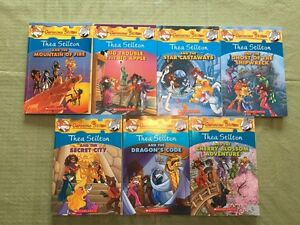 Thea Stilton (Geronimo) Books x 7 – Big Apple Mountain of Fire